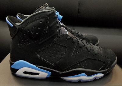 check out a58b3 61423 Air Jordan 6 Retro VI UNC black University blue 384664-006 Men size 8-13 |  eBay