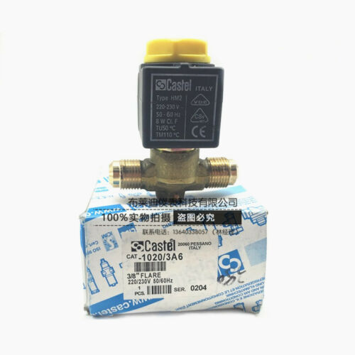 new original Castel  1020-3//A6  Automatic type with coil flaring Solenoid valve