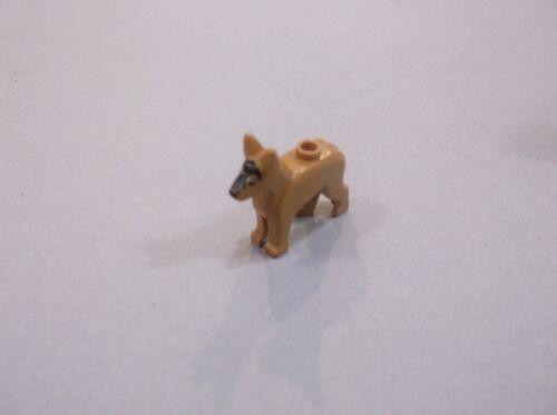 Light Brown German Shepherd Animal Lego Minifig Pet POLICE DOG