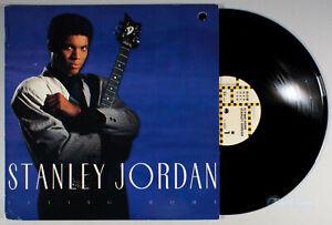 Stanley-Jordan-Flying-Home-1988-Vinyl-LP-PLAY-GRADED-Jazz