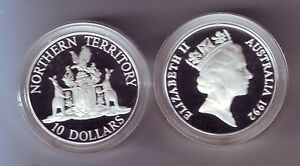 1992-Silver-Proof-10-Coin-Northern-Territory-ex-Australia-State-Series-Set
