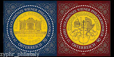 "Austria - ""25 YEARS OF THE VIENNA PHILHARMONIC GOLD COIN"" MNH MS 2014 !"