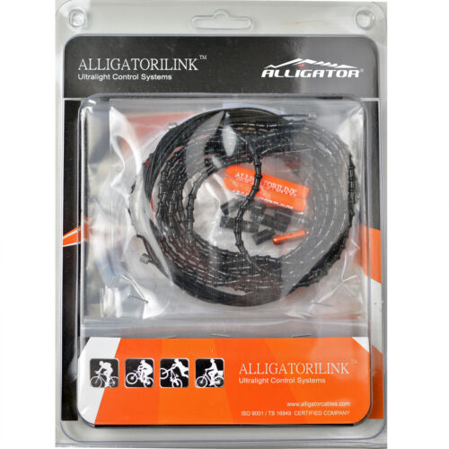 ABY Alligator NEW mini iLINK 4mm Shift Cable Set Black