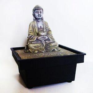 Brunnen zimmerbrunnen buddha deko feng shui raumdeko ebay - Zimmerbrunnen feng shui ...
