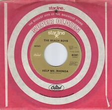 THE BEACH BOYS  Help Me Rhonda / Do You Wanna Dance 45