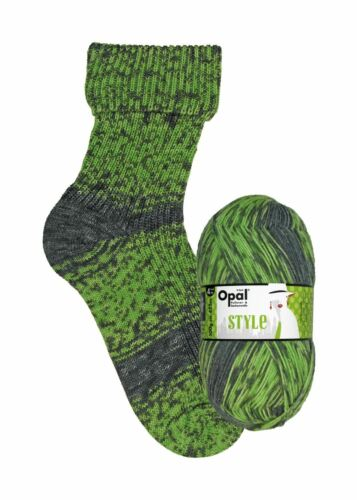"""9542 4ply sock yarn 100g Out of the Ordinary // Außergewöhnlich Opal /""""Style/"""""""