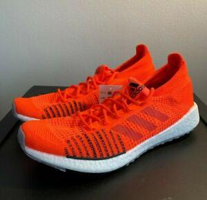NEW-Adidas-PulseBOOST-HD-Boost-Running-Shoes-Solar-Red-Black-FU7332-Men-039-s-Sz-9-5