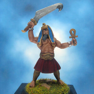 Painted-Reaper-Miniature-Akbeth-Heroic-Pharaoh