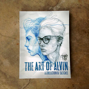 THE-ART-OF-ALVIN-A-Collection-of-Sketches-BOOK-ALVIN-CHONG-Sketch-Drawings
