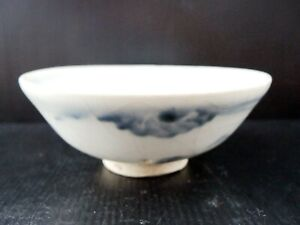 Chinese-Antique-Porcelains-TCP103-Late-Ming-Blue-amp-White-Small-Bowl