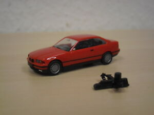 Herpa-BMW-325i-Coupe-E36-rot-Adventskalender-1995-1997-1-87