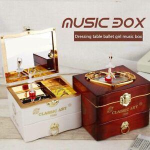 Retro-Music-Box-Rotating-Ballerina-Dancing-Girl-Jewelry-Mirror-Storage-Xmas-Gift
