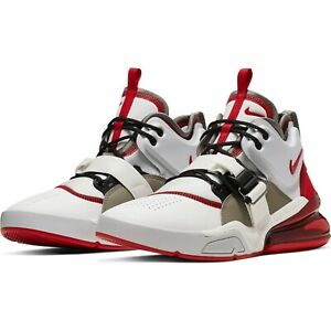 Details about Mens Nike Air Force 270 AH6772 102 Summit WhiteUniversity Red NEW Size 9