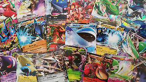 Lot Of 10 NEW EX & GX Pokemon Cards *Mint, No Duplicates*