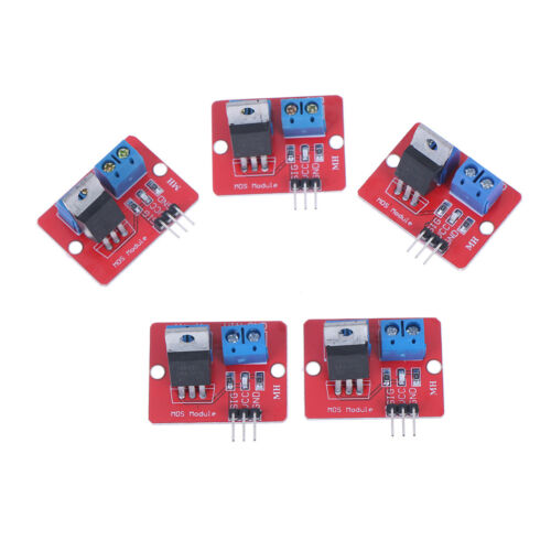 5Pcs IRF520 MOS FET driver module for arduino raspberry pRSDE