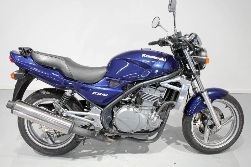 Kawasaki, ER-5, ccm 498