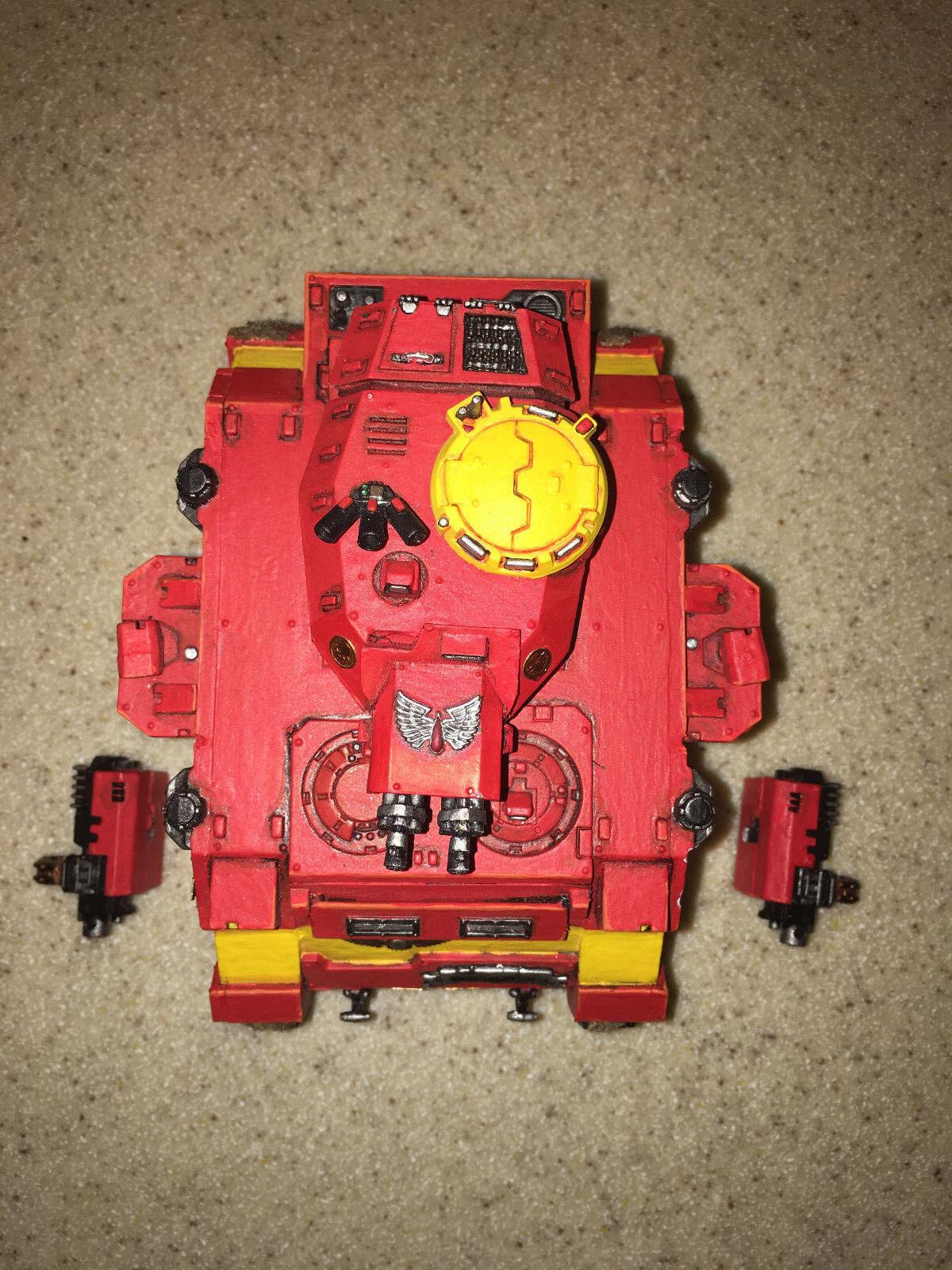 Warhammer 40000 40K Blood Angels Space Marine Baal Predator painted 8 10 A