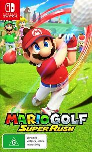 Mario Golf Super Rush Switch Game NEW PREORDER 25/6