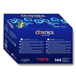 Preservativos / Condones Control Adapta FORTE más resistentes 144 preservativos