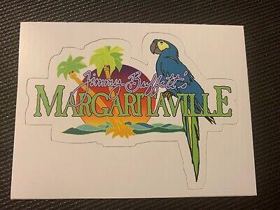 Jimmy Buffett Margaritaville It's 5'oclock Somewhere Sticker Tumbler Decal