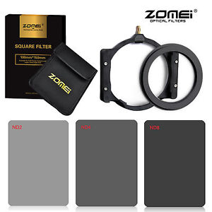 ZOMEI-Square-filter-kit-Complete-ND2-4-8-Holder-67-adapter-for-Cokin-Z-150-100mm