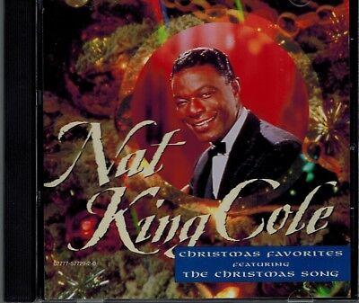 NAT KING COLE - CHRISTMAS FAVORITES - THE CHRISTMAS SONG - MINT CD 696554858473 | eBay
