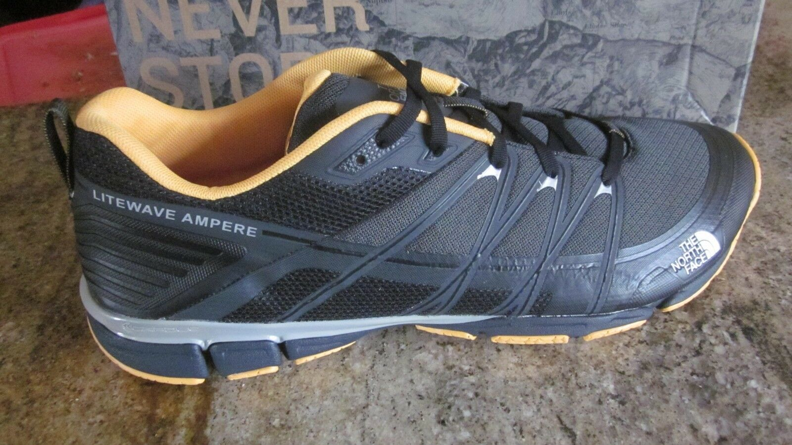 The North Face  Men's litewave ampere shoes SZ 12  save up to 30-50% off