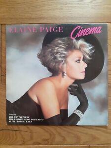 Elaine-Paige-Cinema-K-Tel-NE-1282-Vinyl-LP-Album