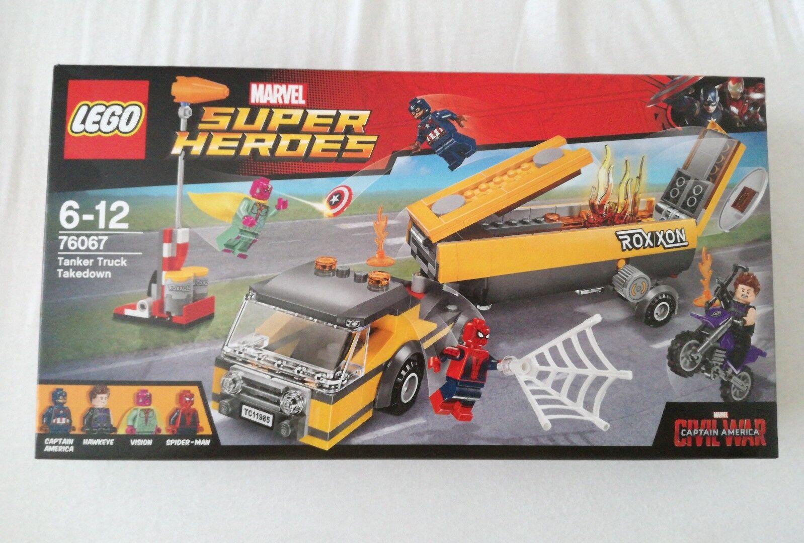 LEGO 76067 - Super Heroes Marvel -Spiderman - Tanker Truck Takedown - neu & ovp