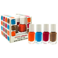 Essie Nail Polish Haute In The Heat 2014 Collection Mini 0.16 Oz 4 Color Pack on sale