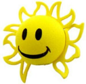 Happy Sun Antenna Topper Ball - NIP