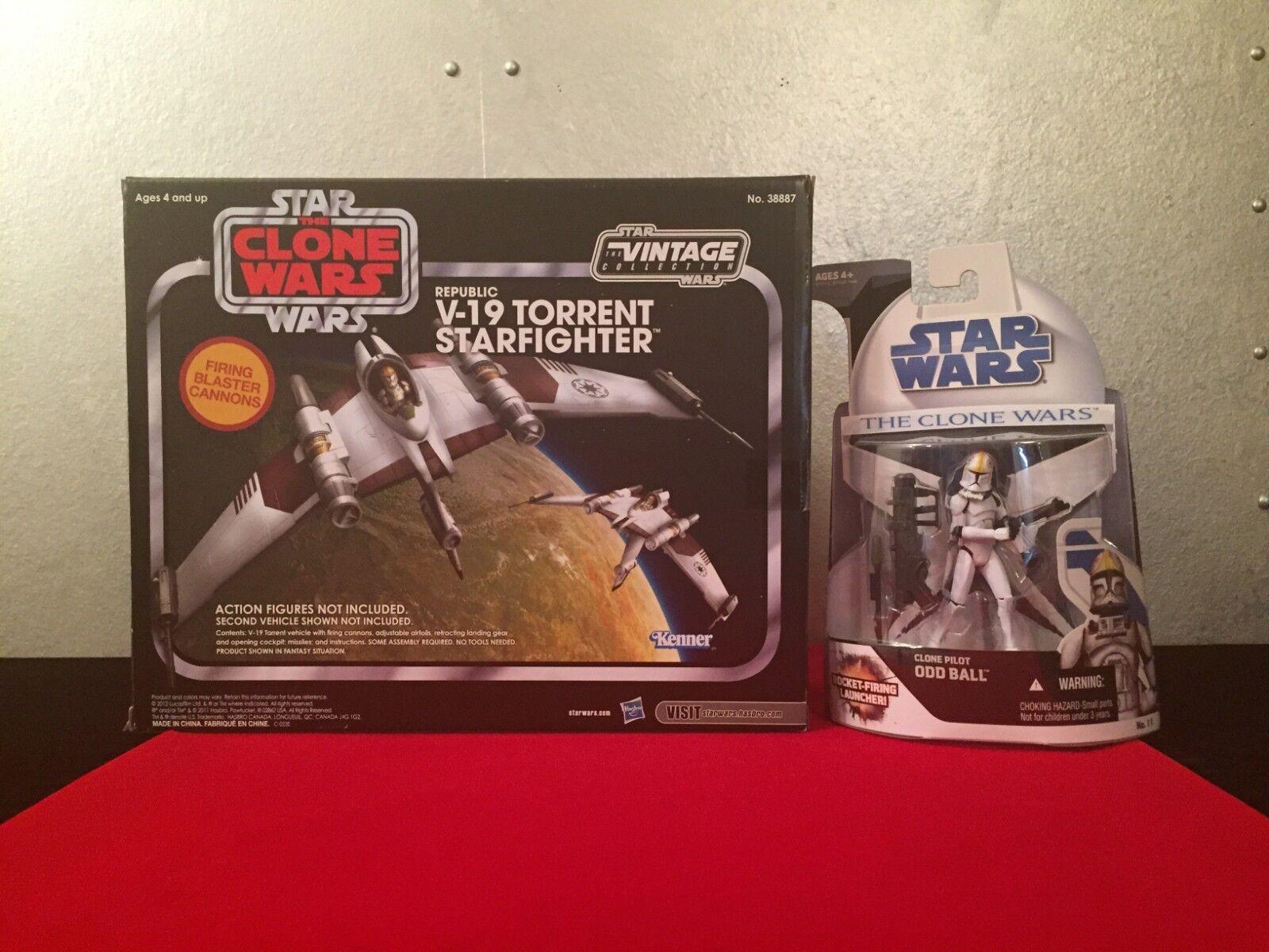 Star wars - vintage - kollektion v-19 torrent - & - pilot viel nib - noc.