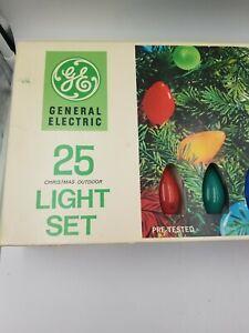 Vintage-GE-Christmas-Lights-Set-of-25-L9-25