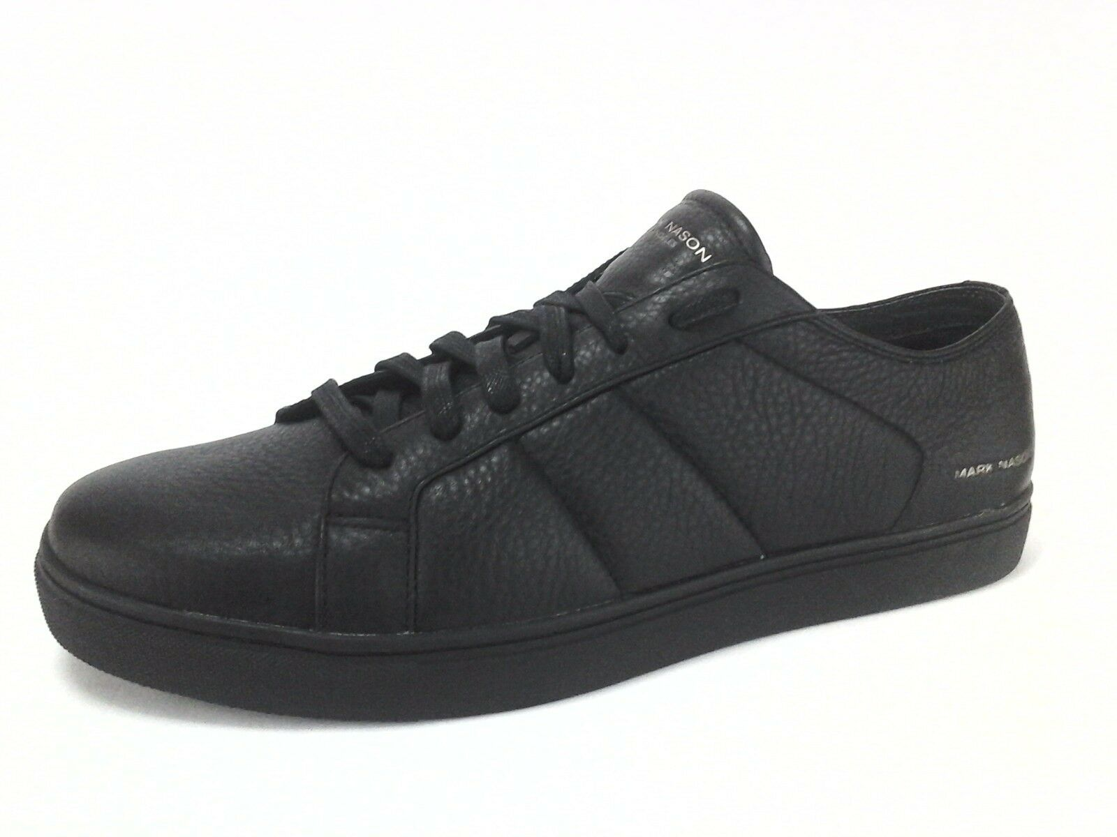 Mark Nason Mens Black Genuine Leather Venice Sneakers shoes US 13 EU 47.5 NWOB