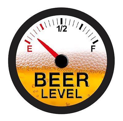 Beer Gauge Level Sticker R1287