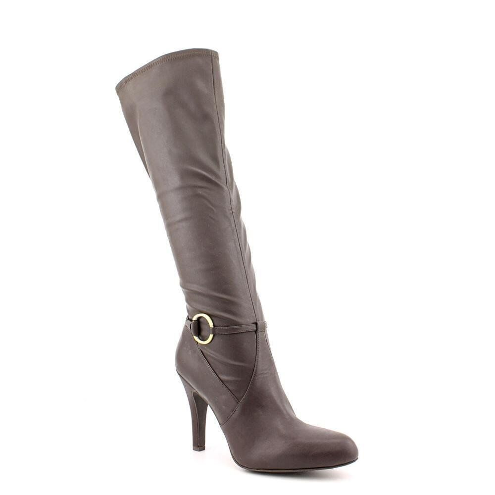 INC International Concepts Women's Tracy Boot (6.5, Nutella)