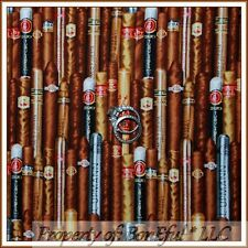 BonEful FABRIC FQ Cotton Quilt Tequila Bar Drink Alcohol Texas Cowboy Man Cave L