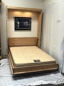 Murphy bed panel full pre cut do it yourself kit ebay image is loading murphy bed panel full pre cut do it solutioingenieria Images