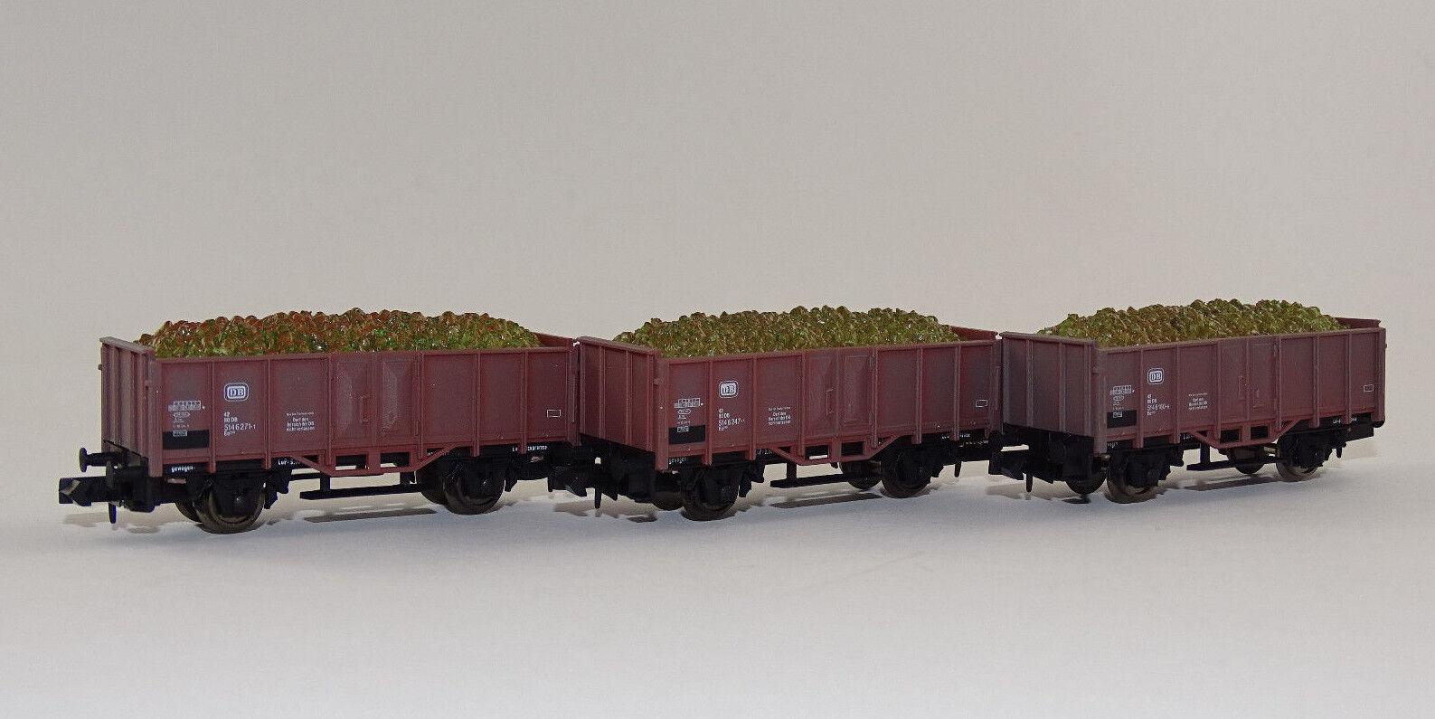 Arnold 0244 Rübenwagen Set Güterwagen Limited Edition Set neu DB OVP