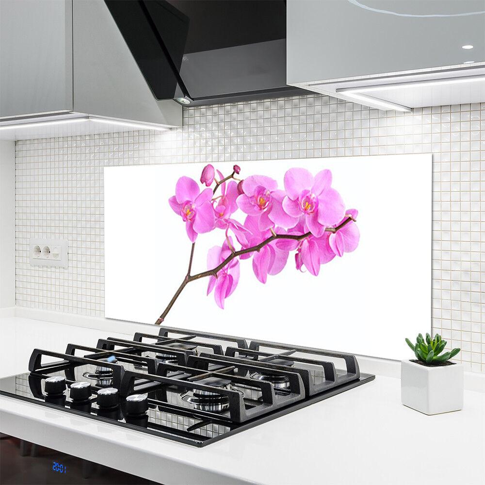 Crédence de cuisine en verre Panneau 120x60 120x60 120x60 Floral Fleurs eed7ce