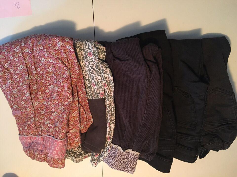 Blandet tøj, Kjoler, bukser