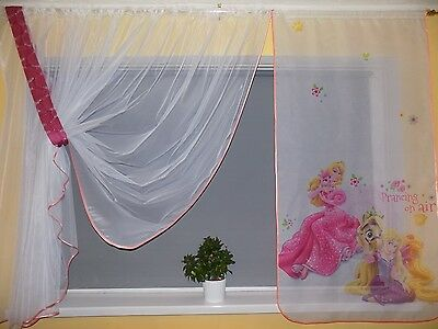 Bello Kids Net Curtain-princess Design Pronto Da Appendere-