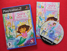 DORA SAVES THE MERMAIDS ~ PlayStation 2 ~Complete~ 2KPlay 3+ PAL