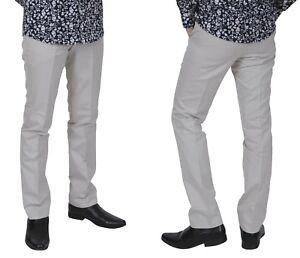 Relco-Para-Hombre-Sta-PRENSA-PIEDRA-Mods-mantenerse-presionado-Pantalones-Vintage-Mod-De-La-Piel
