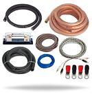 InstallGear 1/0 Gauge Amp Kit 1/0 Ga Amplifier Installation Wiring