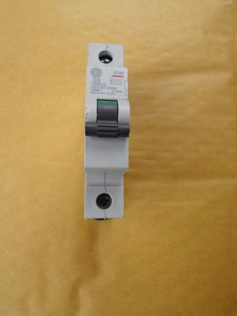 GENERAL ELECTRIC 10 AMP TYPE B 10 kA MCB CIRCUIT BREAKER G101 674952 BS EN 60898