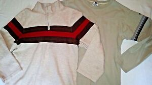 Gymboree Columbia Lot of 2 Boys Long Sleeve Tops Size M