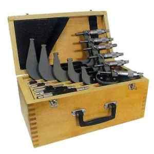 Coffret-de-6-MICROMETRES-capacite-0-a-150mm-precision-5-microns-PALMER