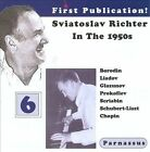 Sviatoslav Richter in the 1950s, Vol. 6 (CD, Jul-2013, Parnassus Records)
