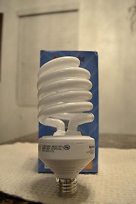 6- NEW 42 Watt Compact Fluorescent CFL Spiral Light Bulb 2700K Warm White= 150/W